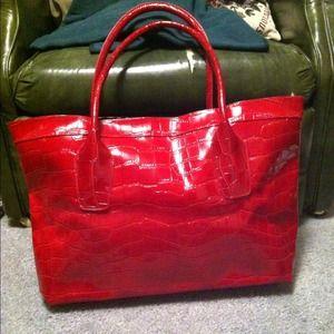 Handbags - NWOT Big Red Bag