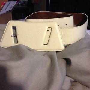Accessories - NWOT Maison Martin Margiela Paris Leather Belt ~70