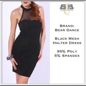 Dresses & Skirts - Black (halter) Dress