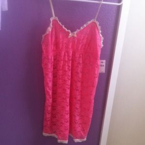 NWT Pink Laced Lingerie
