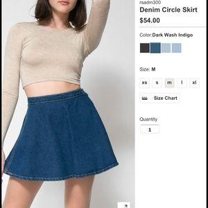 Denim circle skirt outfit – Modern skirts blog for you