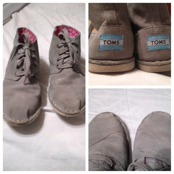 toms ankle booties