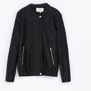 Zara TRF Black Jacket size Medium