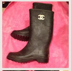 Chanel Rain Boot (Authentic)