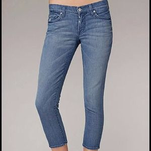 7Fam Roxanne Honolulu cropped jeans