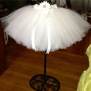 Handmade, fully customizable, and extra full tutu