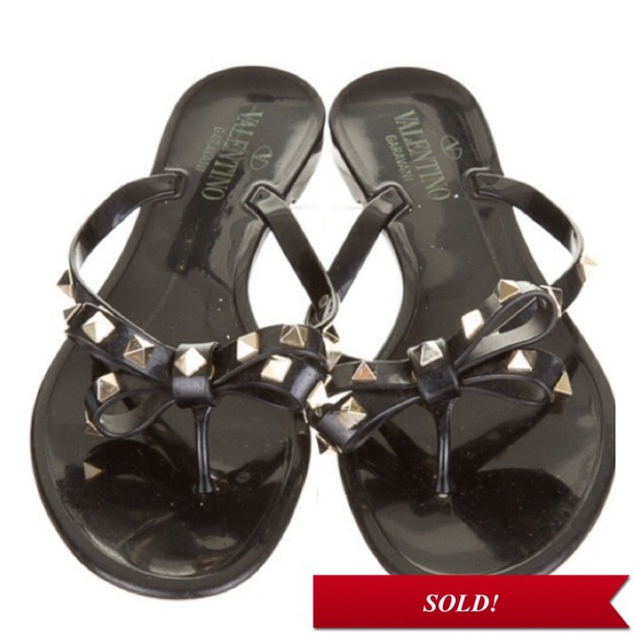 Valentino Sold Valentino Rockstud Jelly Sandals From L S