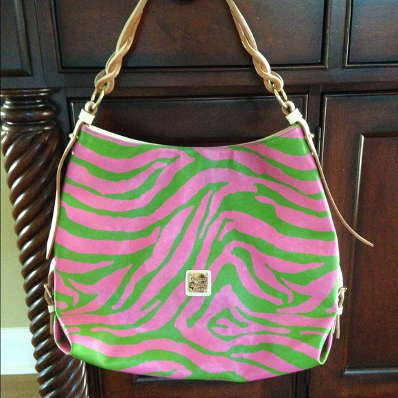 Pink And Green Handbags | Luggage And Suitcases