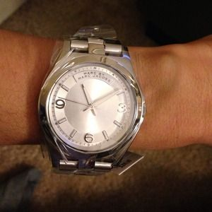 Marc by Marc Jacobs Accessories - Marc Jacobs Silver Watch