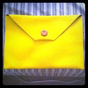 Oversized envelope clutch .