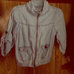 Jackets & Blazers - Thin Denim Macy's jacket