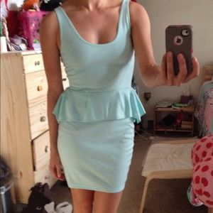 Poof Couture Dresses & Skirts - Cute mind peplum fitted dress