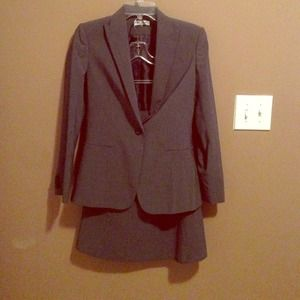 Calvin Klein skirt suit