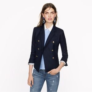 Jcrew double breasted schoolboy blazer