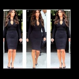 NEW Black Celeb Style BodyCon Party Dress💕