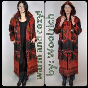 vintage Woolrich 80s south west duster coat