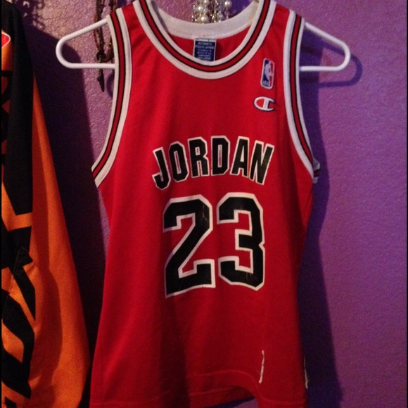 f60a96b31a6 Champion Authentic Apparel Tops | Michael Jordan Jersey | Poshmark