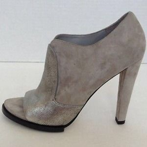 NWT AMAZING Alexander Wang Gray Suede Booties~39.5