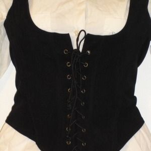 90's Groove USA Lace-Up Vest