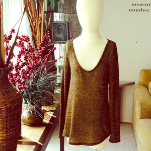 Tobi Open Back Sweater