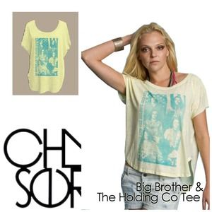 Chaser Tops - Big Brother & the Holding Company Chaser T-Shirt
