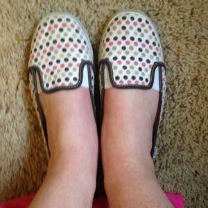 Vans slip on shoes!