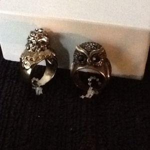 Bird & Owl Rings