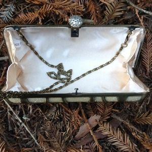 Bags - Gorgeous Gold Clutch