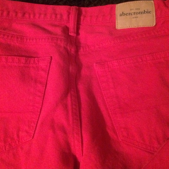 64% off Abercrombie & Fitch Denim - Red skinny jeans boys from ...