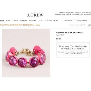 J. Crew Jewelry - J. Crew Turquoise Brûlée Bracelet
