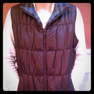 Warm reversible vest
