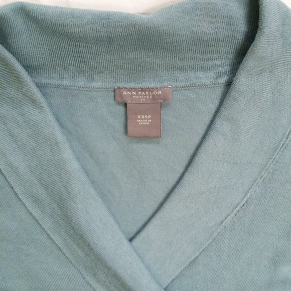 92% off Ann Taylor Sweaters - Donated! 📦🙋 Ann Taylor Dusty Blue ...