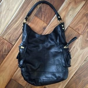 Linea Pelle Dylan Expandable Shoulder Bag 5