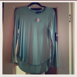 Long sleeve top with elbow patches