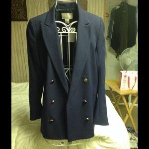 Navy boyfriend blazer/jacket