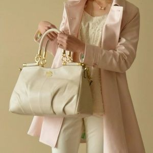 NWT Coach Madison Leather Carrie Satchel $495