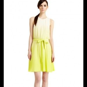 SALE Yellow ombré Erin Fetherston dress