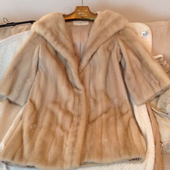 sterling lindner - FINAL reduction! REAL mink fur coat! from ...