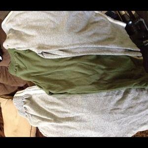 3 pair of boys sweat pants