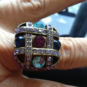 Jewelry - 💍 Fashion multi color ring beautifully done.