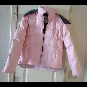 Outerwear - Pink puffer Jacket