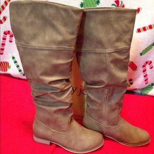 high knee boots