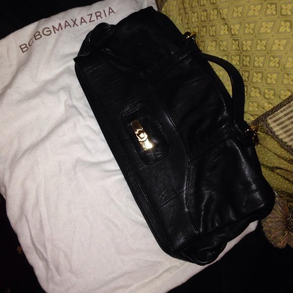 BCBG Bags - ✨Reduced✨ BCBG Leather Handbag