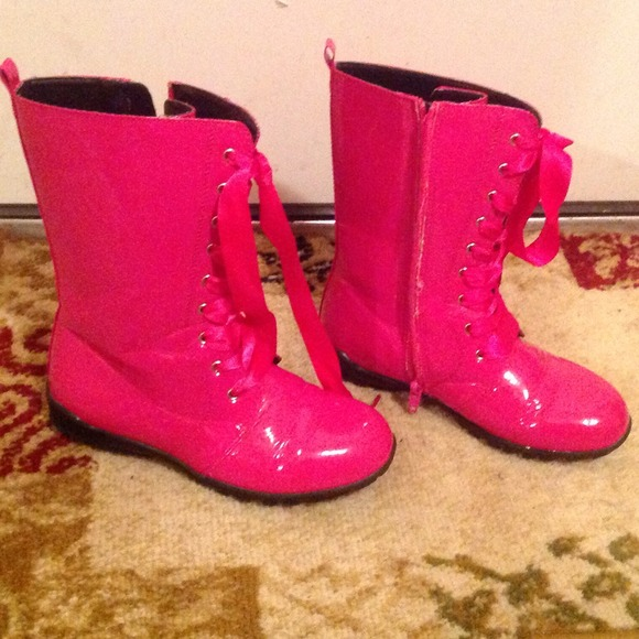 boots for girls size 2