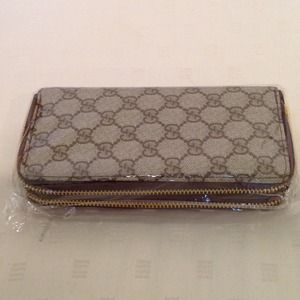 Sold!! Double zipper wallet