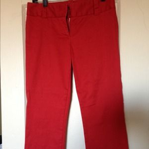 NEWLY-REDUCED J.Crew Nantucket Red Ankle Pants