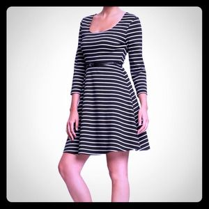 Old Navy Dresses & Skirts - Striped Belted Dress