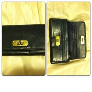Coach leather slim wallet
