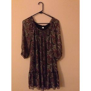 H&M Paisley print dress