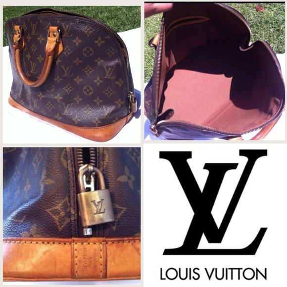 82eb25e1b1d Louis Vuitton Handbags - Authentic Louis Vuitton Alma PM